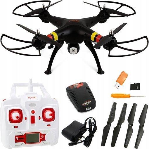 Dron Syma X8C Venture 2Mpx HD 2.4G RC 3D Karta SD