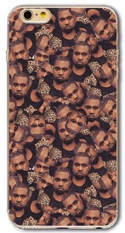 Etui Case Silikon iPhone 6 6s Kanye West