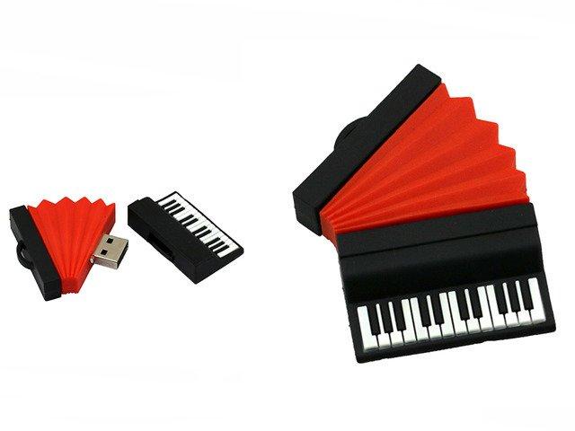 PENDRIVE AKORDEON MUZYKA USB PAMIĘĆ PREZENT 64GB