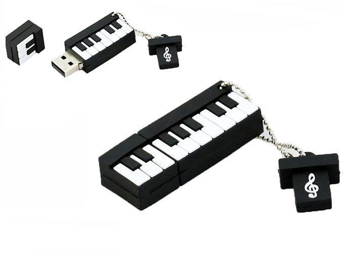 PENDRIVE KEYBOARD Muzyka USB PAMIĘĆ FLASH 64GB
