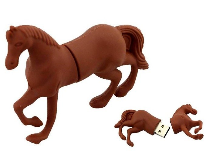 PENDRIVE KOŃ Konik Zwierzę FLASH PAMIĘĆ USB 16GB