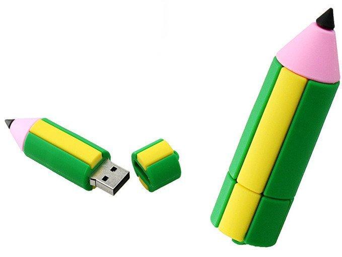 PENDRIVE KREDKA OŁÓWEK KOLOR USB Flash PAMIĘĆ 8GB
