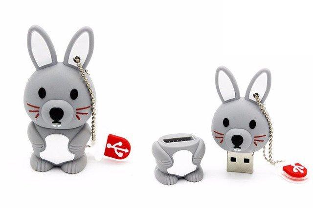 PENDRIVE KRÓLIK KRÓLICZEK ZWIERZĘ FLASH USB 32GB
