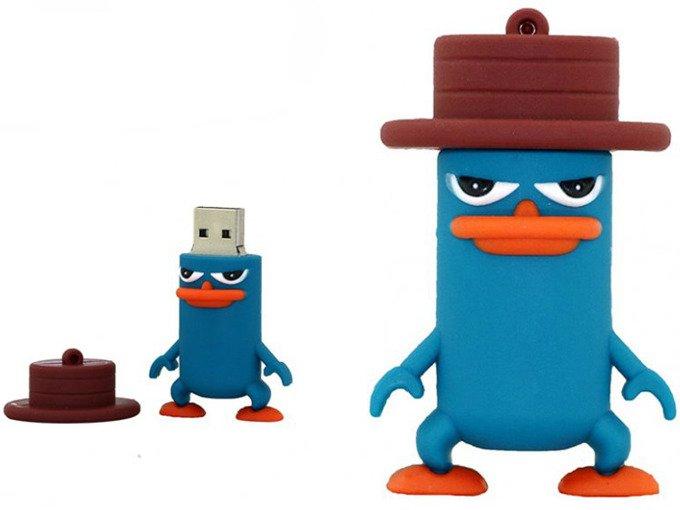 PENDRIVE PEPE AGENT P FERB FINEASZ USB FLASH 16GB