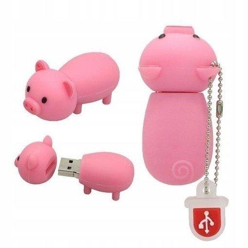PENDRIVE ŚWINKA PROSIE ŚWINIA PIG PAMIĘĆFLASH 16GB