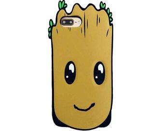 CASE ETUI iPhone 7 GROOT STRAŻNICY GALAKTYKI