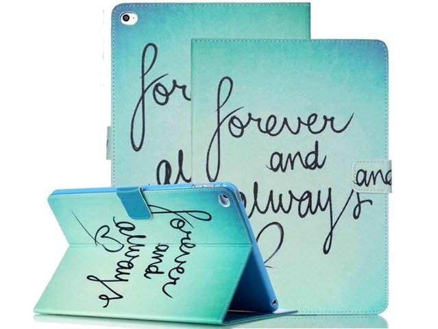 ETUI Case Obudowa FUTERAŁ iPad AIR2 FOREVER ALWAYS