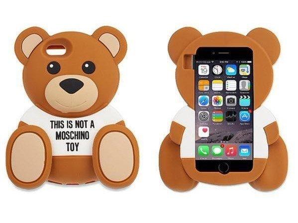 ETUI FUTERAŁ OBUDOWA iPhone 5/5s MIŚ MOSCHINO