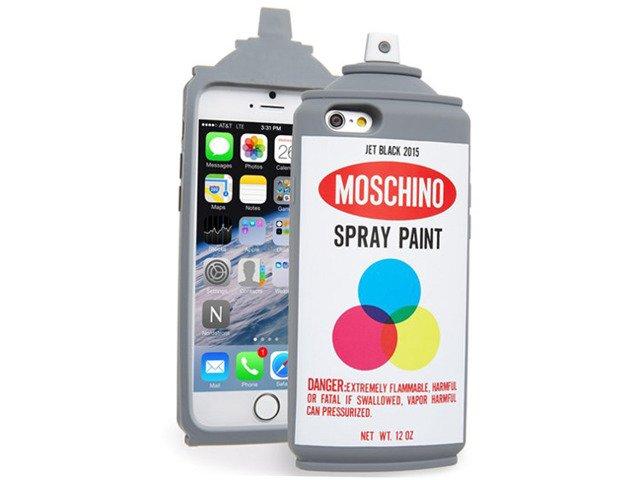 Etui Case Futerał iPhone 6 6s SPRAY PAINT MOSCHINO