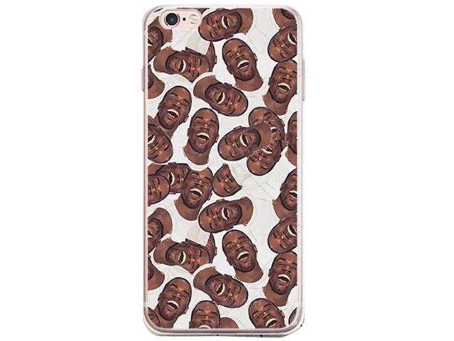 Etui Case Silikon iPhone 5/5s/SE Kanye West TWARZE