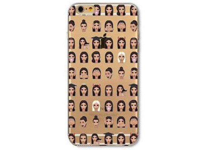 Etui Case Silikon iPhone 6/6s Kim Kardashian West