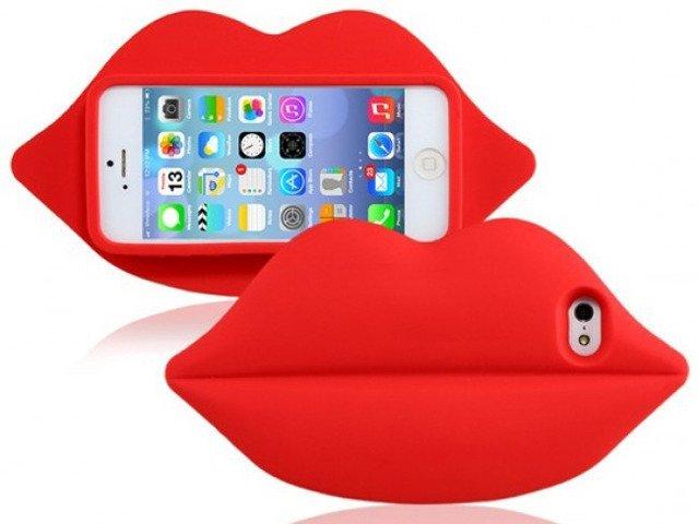 Etui Futerał iPhone 5/5s/SE Usta Victoria's Secret