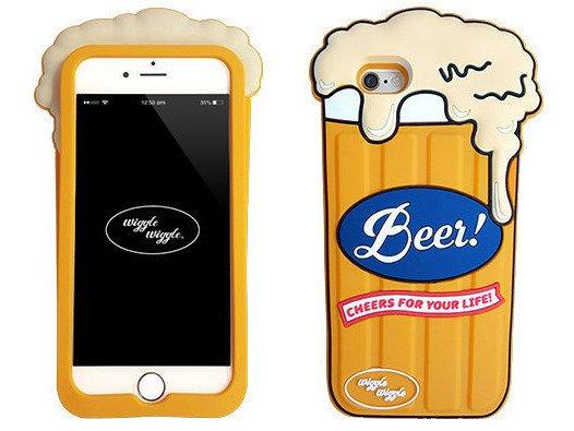 Obudowa ETUI Futerał iPhone 6/6s Piwo Wiggle Beer