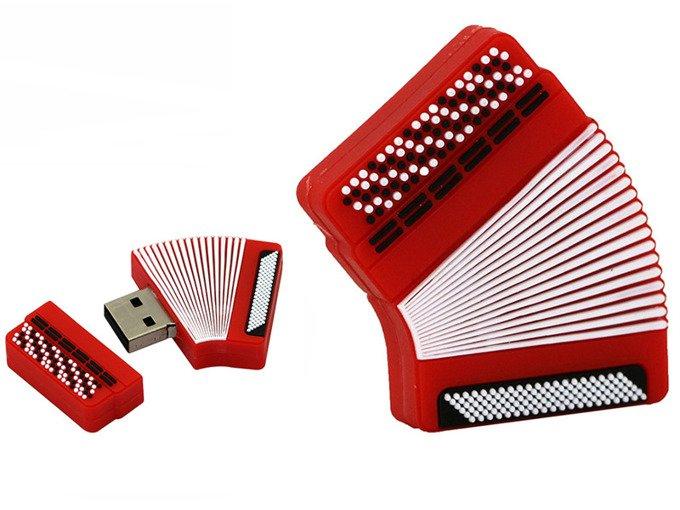PENDRIVE AKORDEON MUZYKA USB Flash PAMIĘĆ 64GB