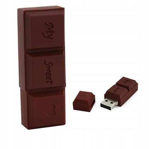 PENDRIVE CZEKOLADA PREZENT USB Flash PAMIĘĆ 8GB