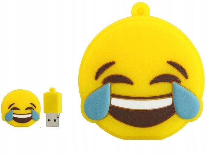 PENDRIVE EMOTIKONA BUŹKA ŚMIECH PAMIĘĆ USB 64GB