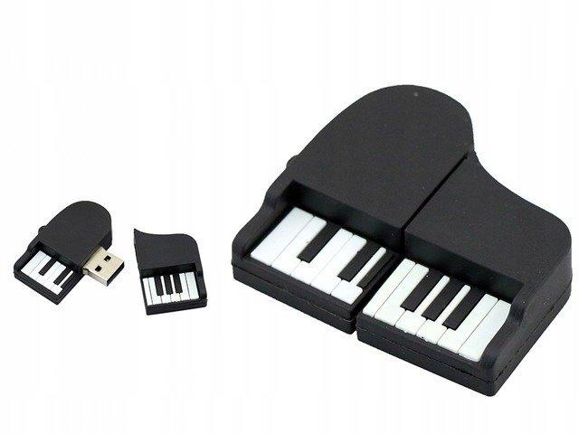 PENDRIVE FORTEPIAN MUZYKA USB PAMIĘĆ FLASH 64GB