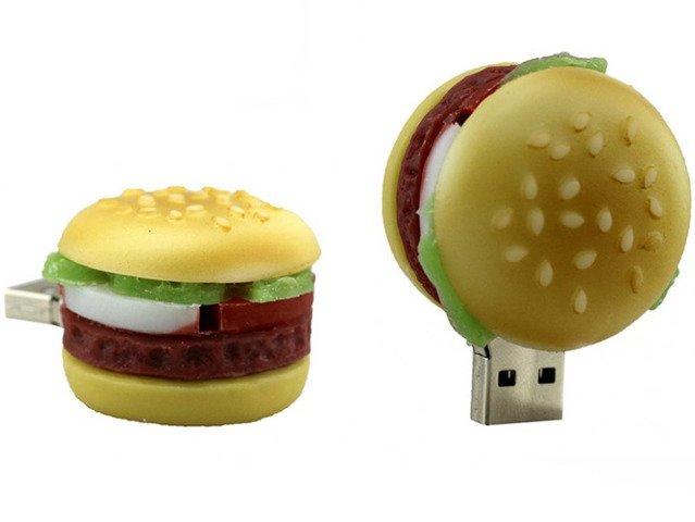 PENDRIVE HAMBURGER JEDZENIE PAMIĘĆ FLASH USB 16GB