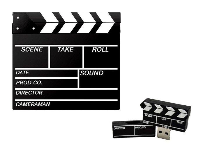 PENDRIVE KLAPS Filmowy FILM USB PAMIĘĆ Flash 64GB