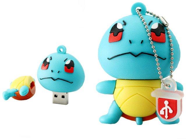 PENDRIVE SQUIRTLE Pokemon GO USB Flash Drive 32GB