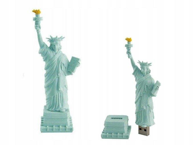 PENDRIVE STATUA Wolności USA PAMIĘĆ USB 64GB