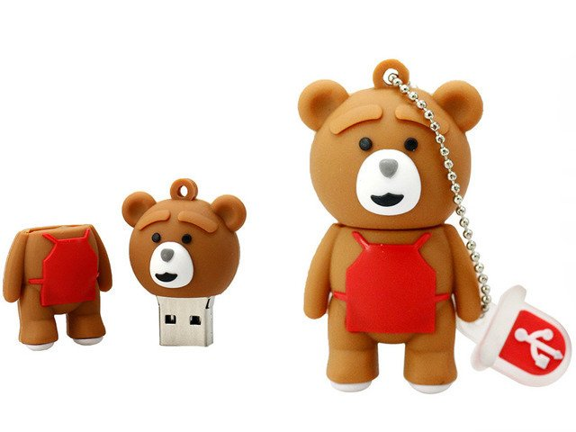 PENDRIVE TEDDY TED MIŚ FILM Prezent USB FLASH 64GB