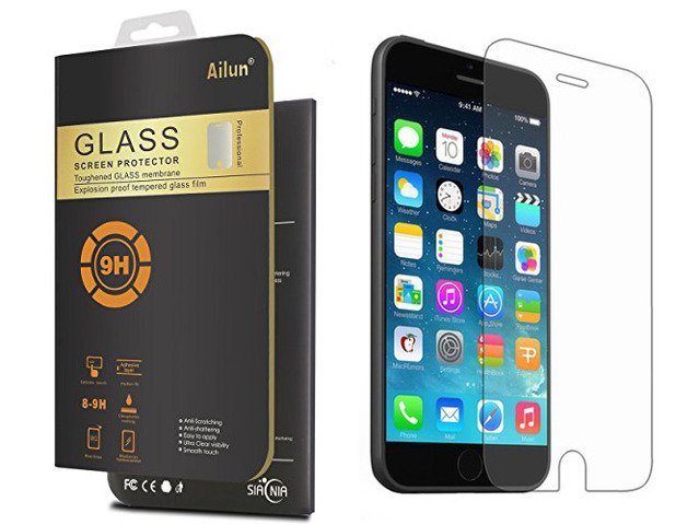 SZKŁO HARTOWANE 9H 0,3mm Apple iPhone 7PLUS ZESTAW